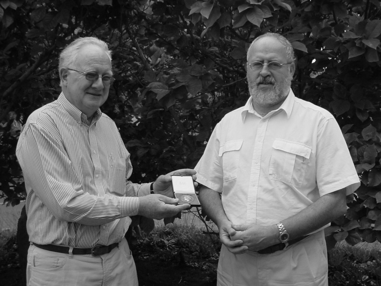 Berto Monard - Gill Medalist for 2004