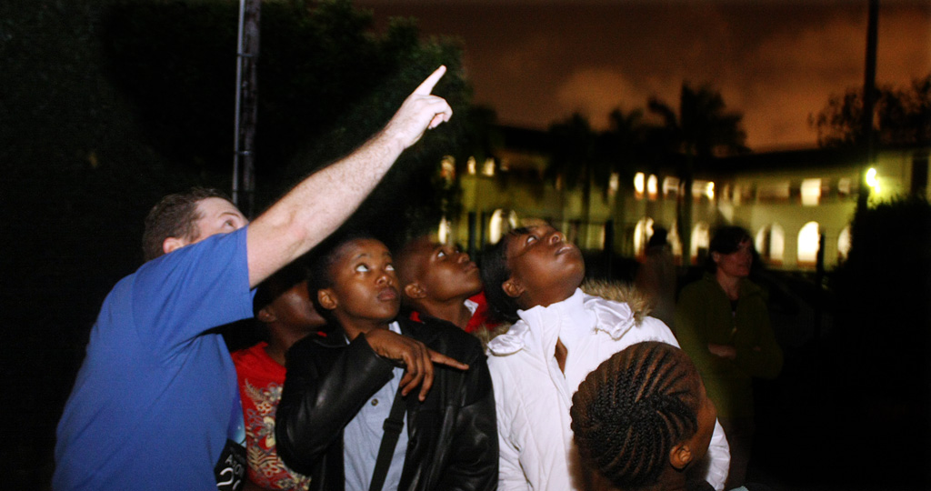 Astronomy outreach with the Durban Centre