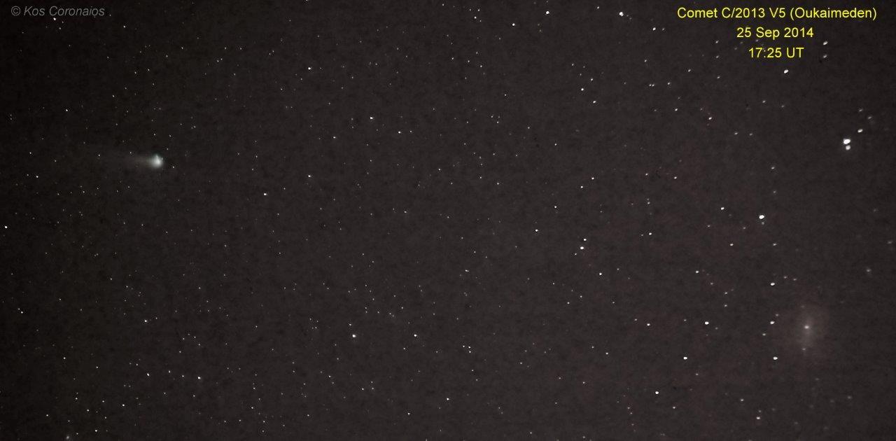 Comet C 2013 V5 Oukaimeden Assa