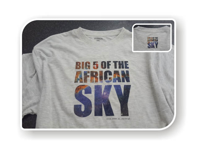 Big Five T-shirts